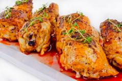 2057346 grilled chicken legs with thyme